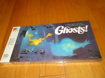Retro New Sealed GHOST! Very Creepy, Sneaky Guess Who GAME Milton Bradley 1985