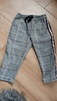 Girls Next Trousers Aged 3 yrs Excellant style with piping down outside of leg
