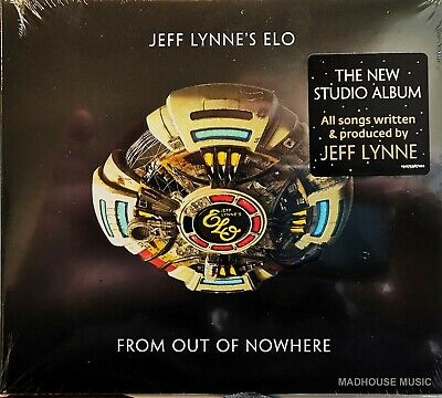 ELO E.L.O. CD From Out Of Nowhere 10 Track 2019 Deluxe Digi-Pack SEALED IN STOCK