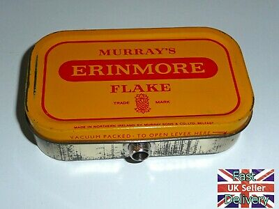 'Old Tin Stomp Box'. Hand Made From An Old Erinmore Tobacco Tin. @@@@@