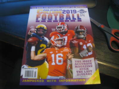 Phil Steele's 2019 College Football Preview - National Cover