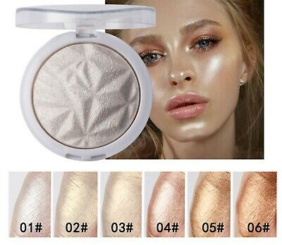 Cheek Face Eye Shine Shimmer Pearl Highlight Contour Brightener Bronzer Powder