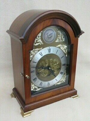 Lovely Comitti Of London Triple Chime Bracket Clock