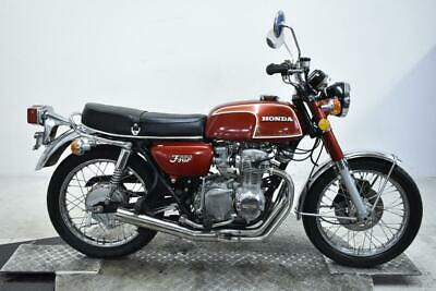 1973 Honda CB350 Four Unregistered US Import Clean Classic Restoration Project