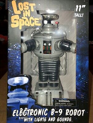 LOST IN SPACE Diamond Select Electronic Classic B-9 Robot Lights/Sounds NEW Stoc