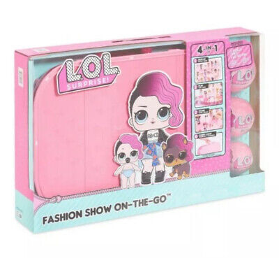 LOL Surprise Fashion Show On The Go 4 In 1 Set