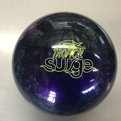 Storm Tropical Surge Bowling Ball Violet Charcoal NIB 1st Quality