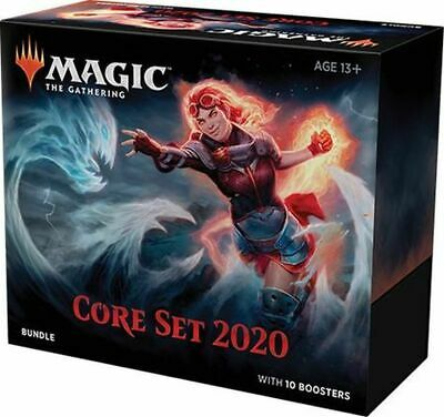 Magic the Gathering: Core Set 2020 MTG M20 Bundle w/ 10 Boosters