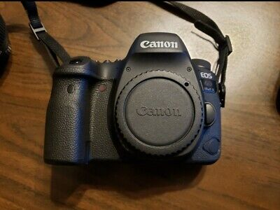 Canon EOS 6D Mark II 26.2MP Digital SLR Camera - Black (Body Only)