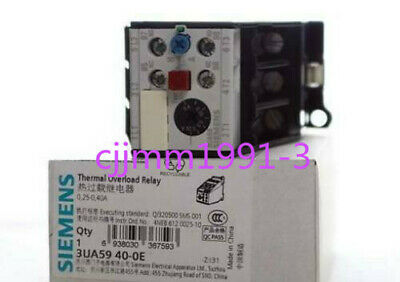 1PC NEW IN BOX Siemens 3UA5940-0E 0.25-0.4A