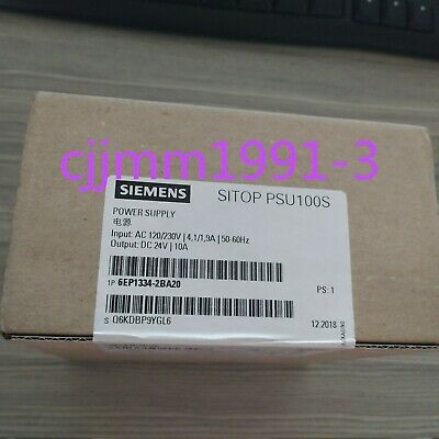 1PC NEW IN BOX Siemens 6EP1334-2BA20 power supply