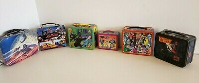 Flash Gordon Súper Amigos Solitario Ranger Hellboy Metal Reimpresión Lunchbox De