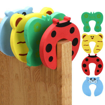 4Pcs Kid Finger Protector Door stopper lock Jammers Stop Pinch Guard Baby Safety