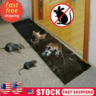 Large Size Mice Mouse Rodent Glue Traps Board Super Sticky Rat Snake Bugs Safe-