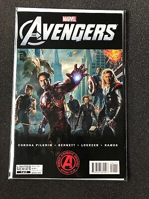 Marvel Comics The Avengers Movie Variant #1 Good Condition