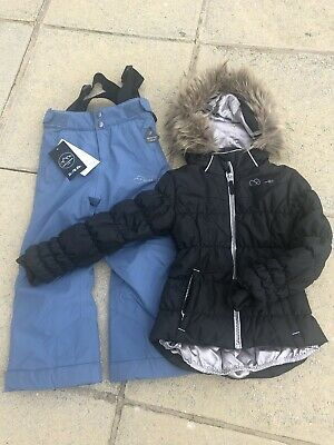 Girls Stunning Dare2B Snow Suit , Ski Suit, Ski Jacket & Ski Trousers, Age 3-4