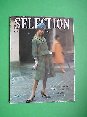 Selection Fashion Magazine Collections Pret a Porter Hiver Winter 1959 1960 n.2
