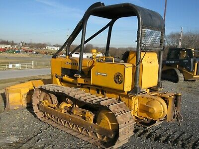 John Deere 450C Crawler Dozer, 6 Way blade, Winch, Very Clean, 1938 Hours