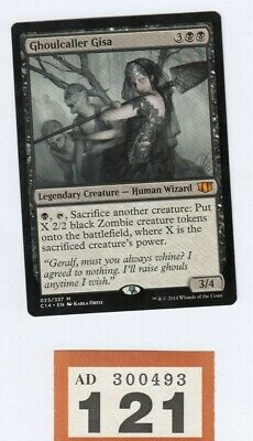 MTG Magic the Gathering - Ghoulcaller Gisa - Commander 2014 - Misprint