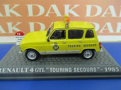 Die cast 1/43 Modellino Auto Renault 4 GTL Touring Secours 1985