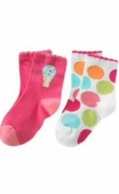 NWT Vintage Gymboree Popsicle party ice cream social parlor spring socks 6-12 mo