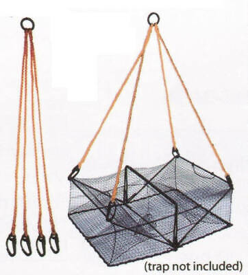 Promar 4 Arm Crab Trap Harness NE-104 Durable Line Net Buoy Rope Cage Floats