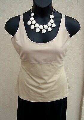 Spanx Sara Blakely cami shaper plus size 1x shapewear $66 nude camisole tank top