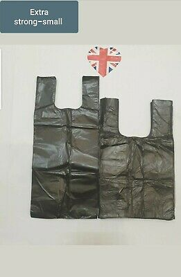 2 Size Of Dog Poo Bags(Dog Poop Bags,Waste Bags) Black Tie Handle