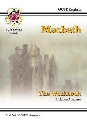 New Grade 9-1 GCSE English Shakespeare - Macbeth Workbook (includes Answers) by