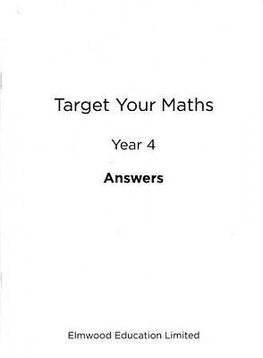 Target Your Maths Year 5 Answer Book by Pearce, Stephen (Paperback book, 2014)