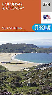 Colonsay and Oronsay by Ordnance Survey (Sheet map, folded book, 2015)
