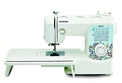 37-Stitch Full-Featured Sewing and Quilting Machine with 8 Sewing Feet, Wide