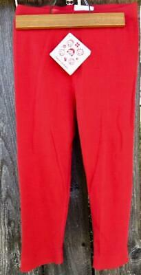 *NEW* HANNA ANDERSSON Classic Ribbed Crop Leggings 130 7 8 9 10 NWT