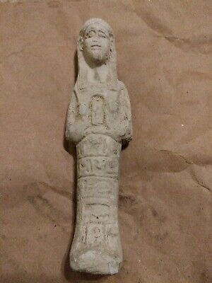 ANCIENT EGYPTIAN ANTIQUE Rare Statue Egypt Hand Carved Stone Age Unknown