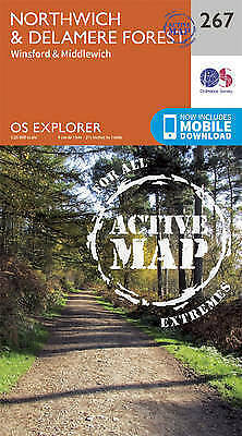 Northwich and Delamere Forest by Ordnance Survey (Sheet map, folded book, 2015)