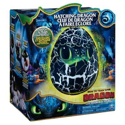 Hatching Toothless Egg How To Train Your Dragon Interactive Electronic Kids Toy