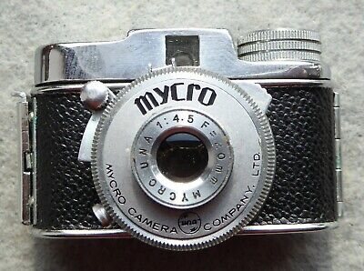 Mycro Camera Co Limited, miniature camera in case, good condition, working. IIIA