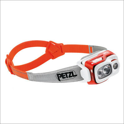 Petzl Swift Rl Orange - Lampe Frontale Intelligente Rechargeable 900 Lumens