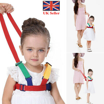 Baby Kid Toddler Safety Harness Learning Walk Assistant Walking Reins Anti-Lost
