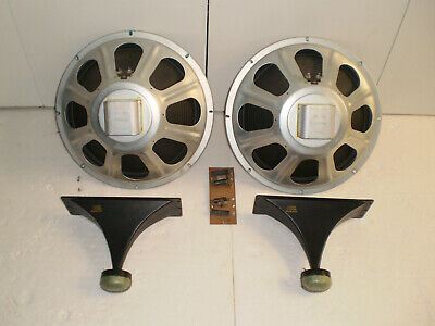 """Magnavox 15"""" Alnico Speakers, Horns, and Crossovers from Astro Sonic Console"""