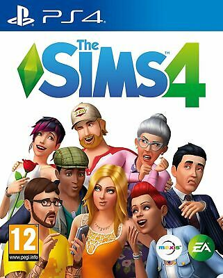 Sony PlayStation 4 The Sims 4 PS4 EA Brand New Sealed Official