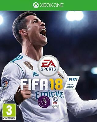 FIFA 18 Xbox One Brand New Sealed Official Tracked Delivery UK PAL
