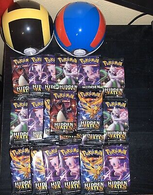 1x Pokemon TCG Hidden Fates Brand New Sealed  Booster Pack!