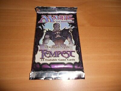 MTG Tempest Booster Pack!!! Factory Sealed Brand New!!! WOTC!!!