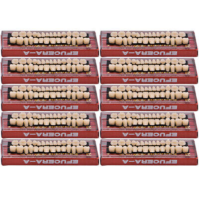 280ps Acrylic Resin Denture 23# A2 Dental Full Set Teeth Upper Lower Shade Tooth