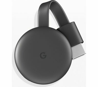 GOOGLE Chromecast - Third Generation, Charcoal - MISSING ACCESSORIES