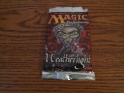 MTG Weatherlight Booster Pack!! Factory Sealed!! Brand New!! WOTC!!
