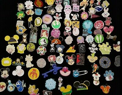 Disney Pin Trading 25 Assorted Pin Lot - Brand NEW Pins - No Doubles - Tradable*