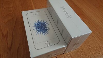 Factory Sealed Apple iPhone SE - 16GB - Silver - Factory Unlocked A1723 Sim Free