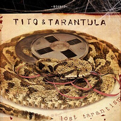 Tito &  Tarantula - Lost Tarantism (Uk) New Cd
